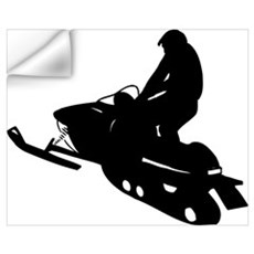 Snowmobile Wall Art Wall Decal