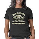 Old School Conservative di Women's Classic T-Shirt