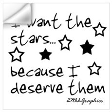 I want the STARS Wall Art Wall Decal