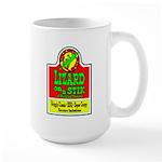 Lizard On A Stik! Large Mug