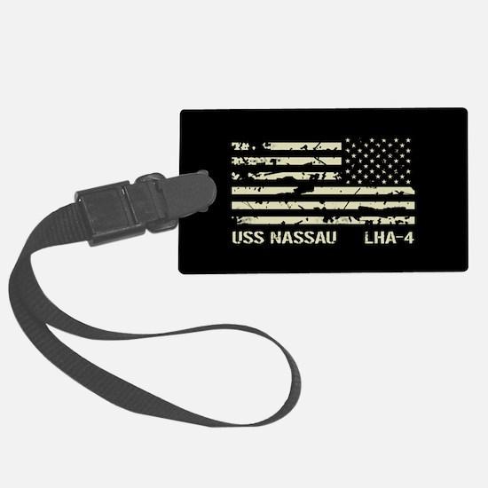 USS Nassau Luggage Tag
