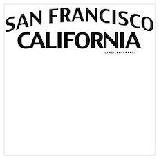 San Francisco Wall Art Poster