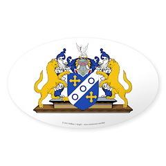 Nikolaos' Sticker (Oval 50 pk)