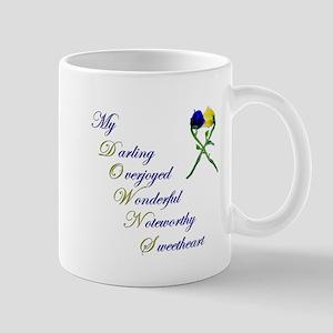 Downs Syndrome Sweetheart Mug