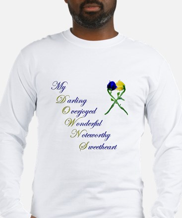 Downs Syndrome Sweetheart Long Sleeve T-Shirt
