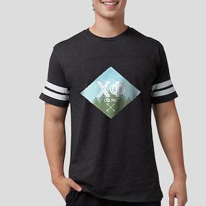 Chi Phi Trees Mens Football Shirt