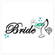 BRIDE Wall Art Poster