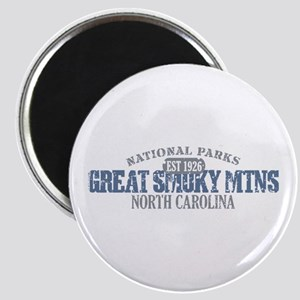 Great Smoky Mountains NC Magnet