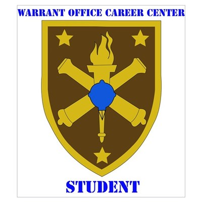 SSI-WARRANT OFFICE CAREER CENTER -STUDENT-WITH TEX Poster
