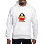 Auto Racing Penguin Hooded Sweatshirt