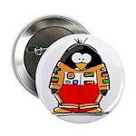 Auto Racing Penguin Button