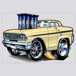1964 Ford Thunderbolt Wall Art