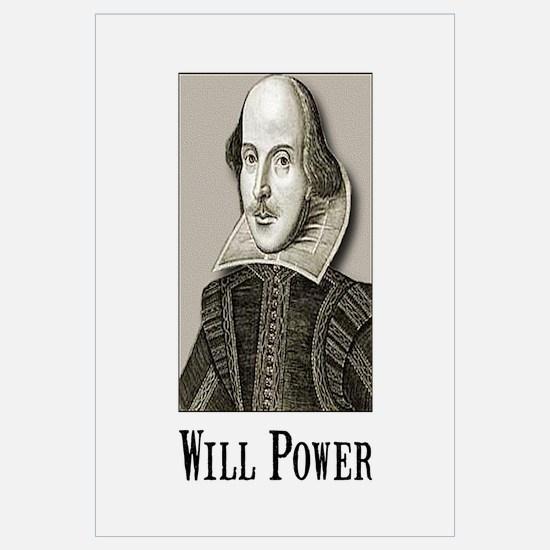 Will Power Wall Art