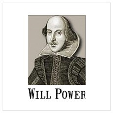 Will Power Wall Art Poster