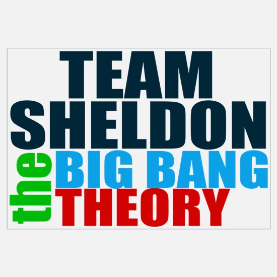 Team Sheldon Wall Art