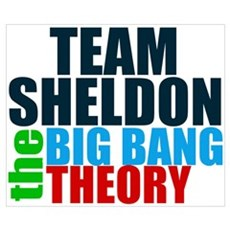 Team Sheldon Wall Art Poster