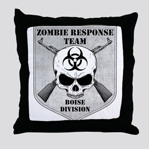 Zombie Response Team: Boise Division Throw Pillow