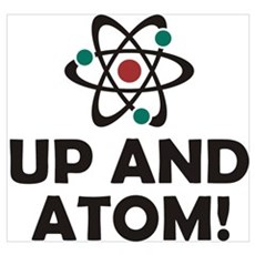 Up and Atom Wall Art Canvas Art