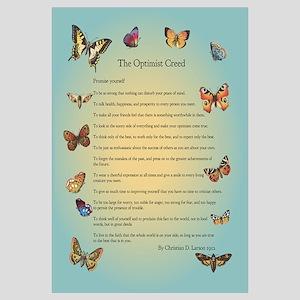 Optimist Creed Poster