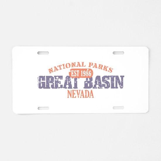 Great Basin National Park NV Aluminum License Plat