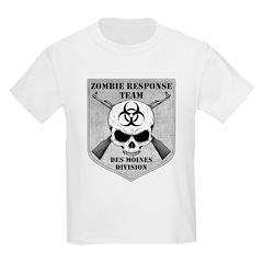 Zombie Response Team: Des Moines Division T-Shirt