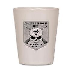 Zombie Response Team: Des Moines Division Shot Gla