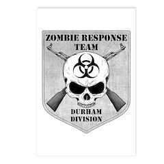 Zombie Response Team: Durham Division Postcards (P