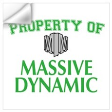 Fringe: Property of Massive Dynamic Wall Art Wall Decal