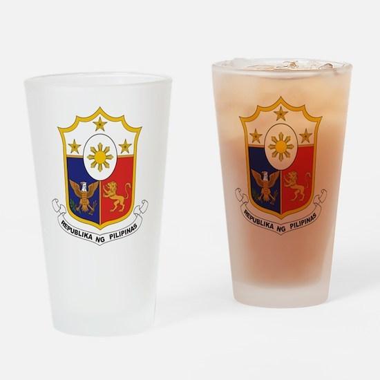 """Philippines COA"" Drinking Glass"