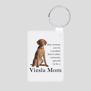 Vizsla Mom Keychains