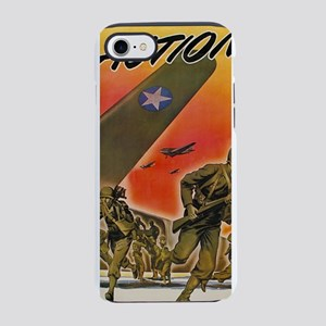 Vintage World War 2 - Action!  iPhone 7 Tough Case