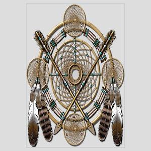 Dreamcatcher Medicine Wheel Wall Art