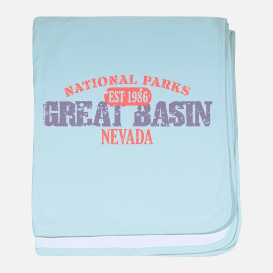 Great Basin National Park NV baby blanket