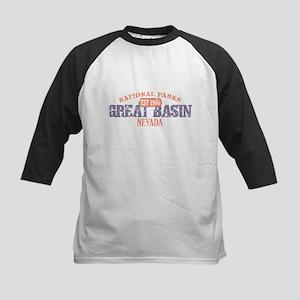 Great Basin National Park NV Kids Baseball Jersey