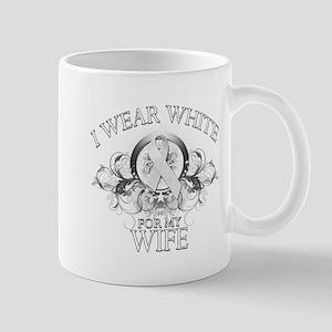 I Wear White for my Wife (flo Mug