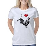 I_love_cock_10x10 Women's Classic T-Shirt