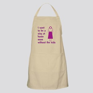 Stay At Home Mom No Kids Apron