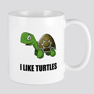 I Like Turtles Mugs
