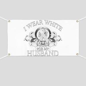 I Wear White for my Husband ( Banner