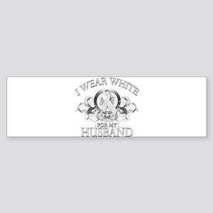 I Wear White for my Husband ( Sticker (Bumper)