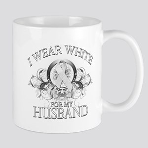I Wear White for my Husband ( Mug