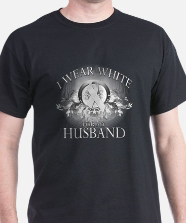 I Wear White for my Husband ( T-Shirt