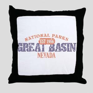 Great Basin National Park NV Throw Pillow