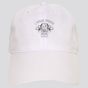 I Wear White for my Dad (flor Cap