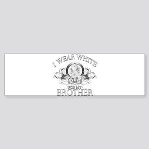 I Wear White for my Brother ( Sticker (Bumper)