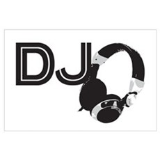 DJ Wall Art Poster