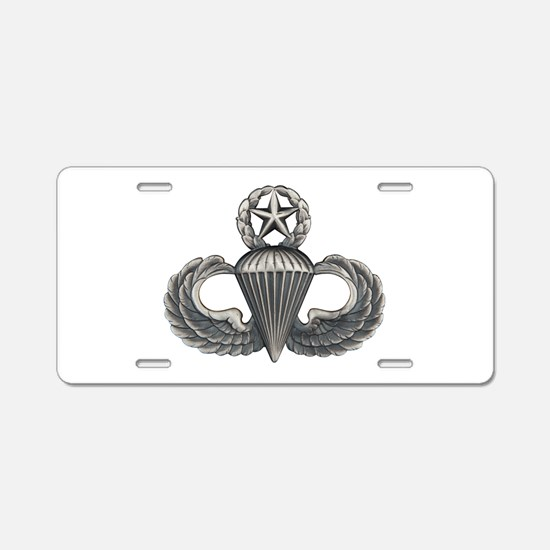 Master Airborne Aluminum License Plate