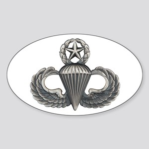 Master Airborne Sticker (Oval)
