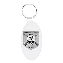 Zombie Response Team: Hartford Division Keychains