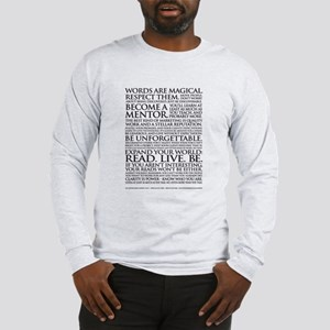 Men's Long Sleeve Voiceover Talent Manifesto T